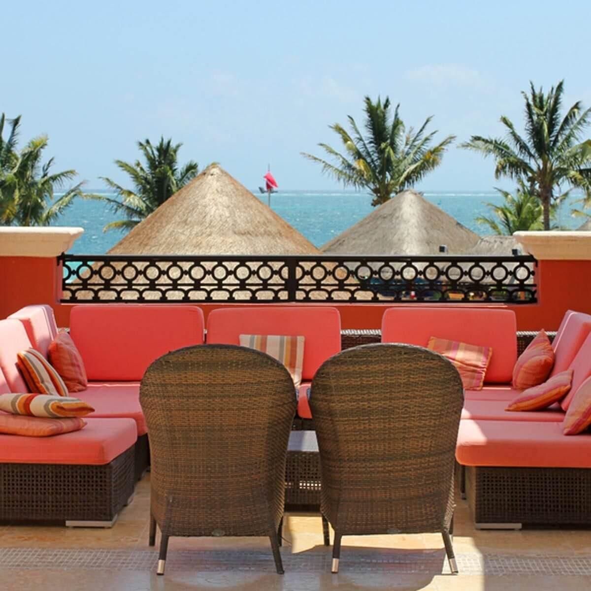 Colorful Cushions patio furniture