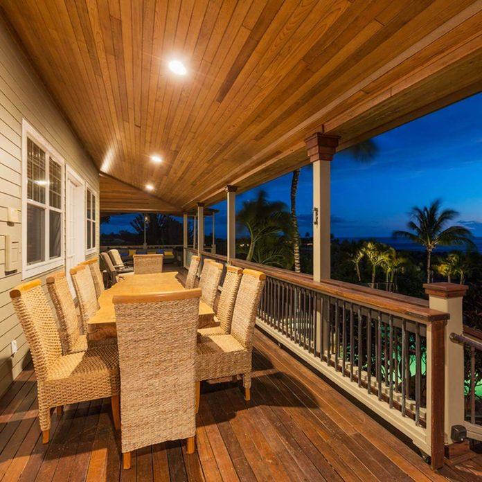 Recessed deck Lighting