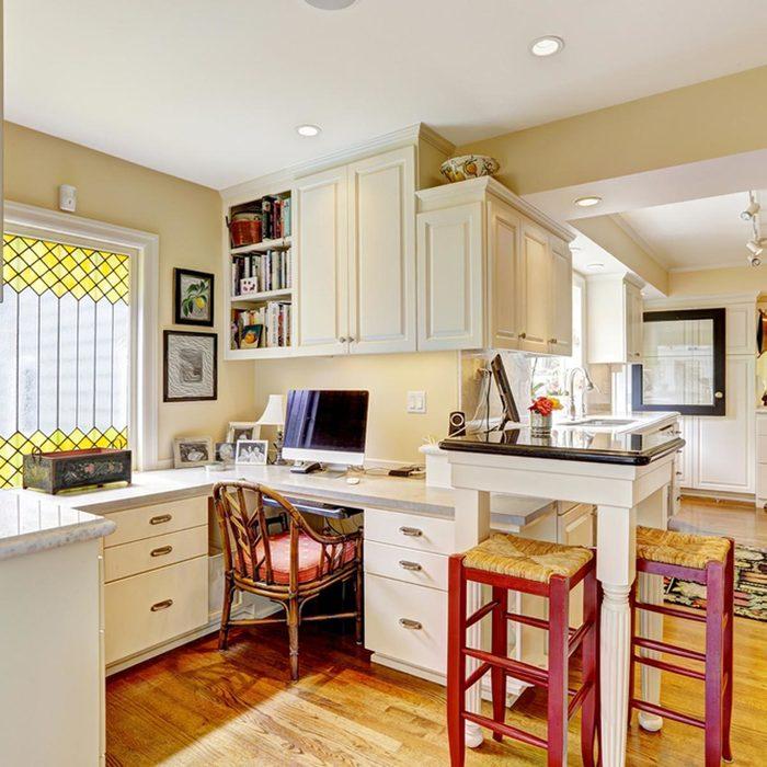 kitchen desk