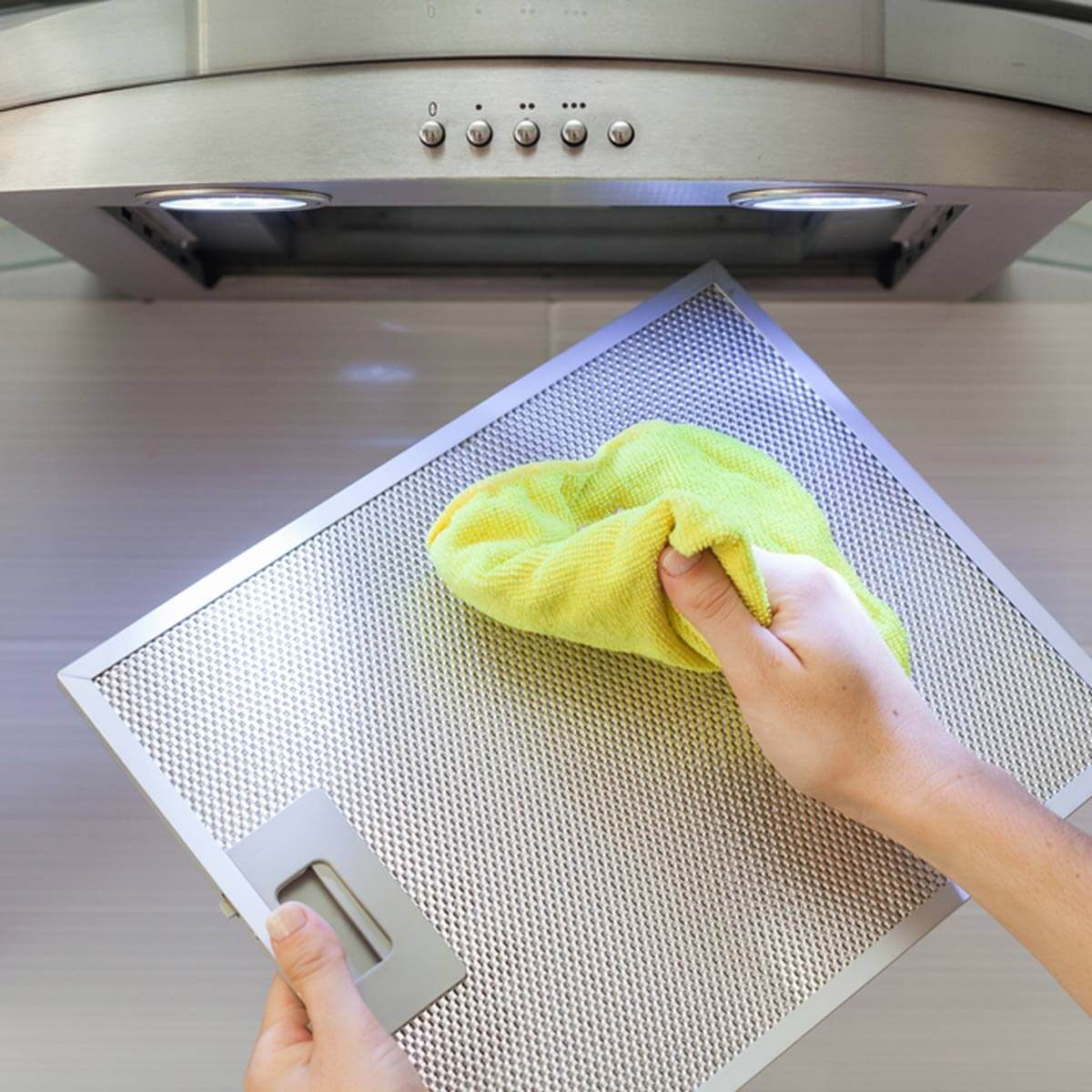 Clean your stove's vent