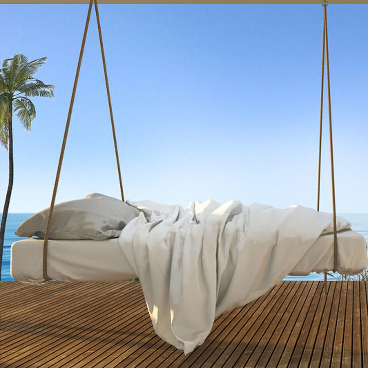 patio daybed swing