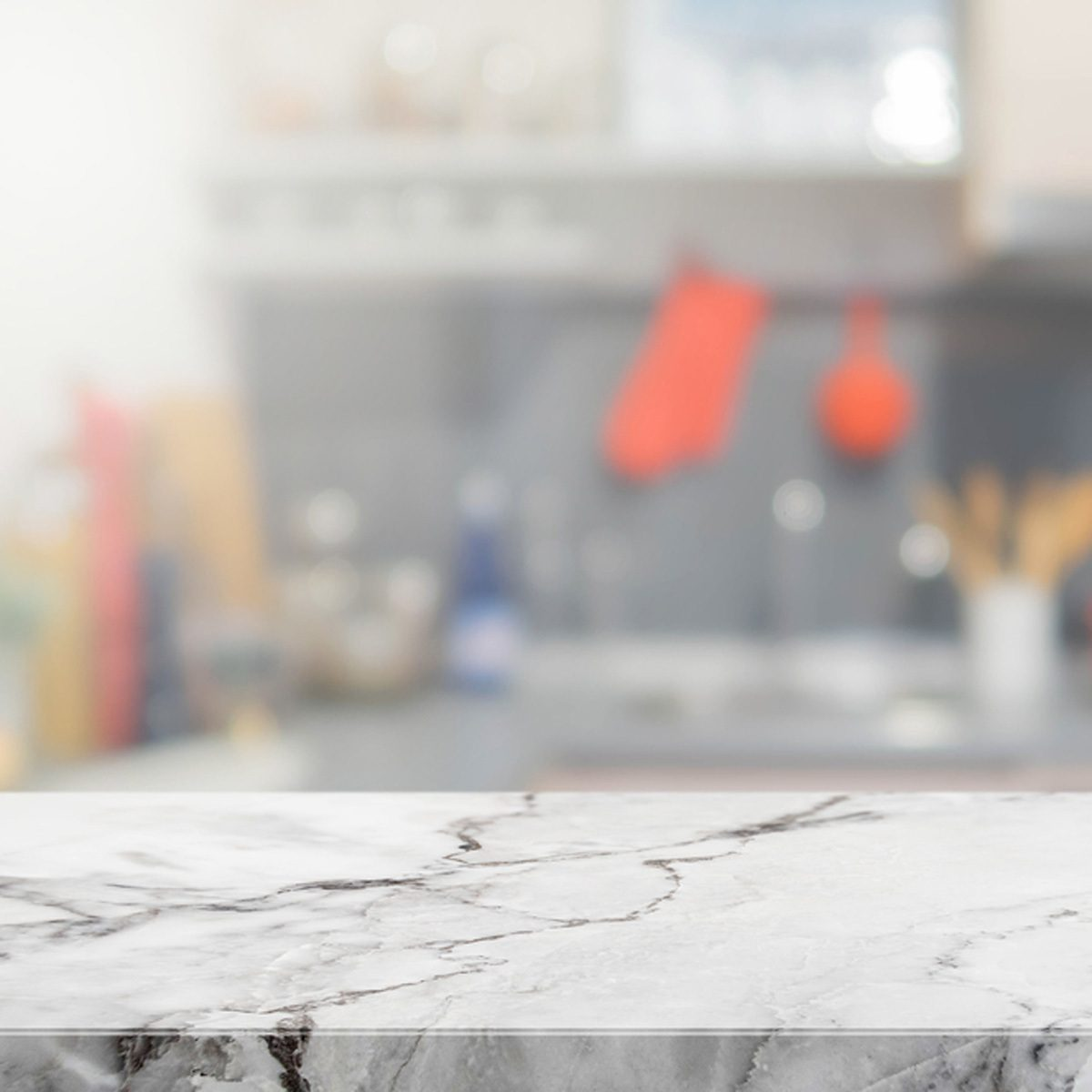 Fake an Expensive Marble Countertop