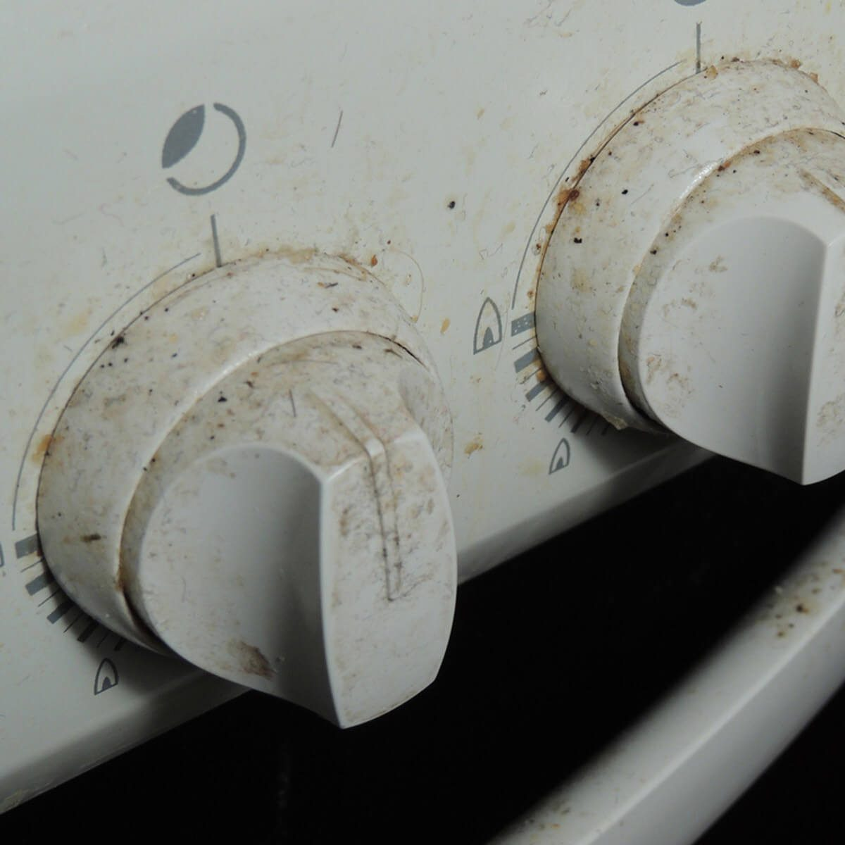 Dirty Appliance Knobs