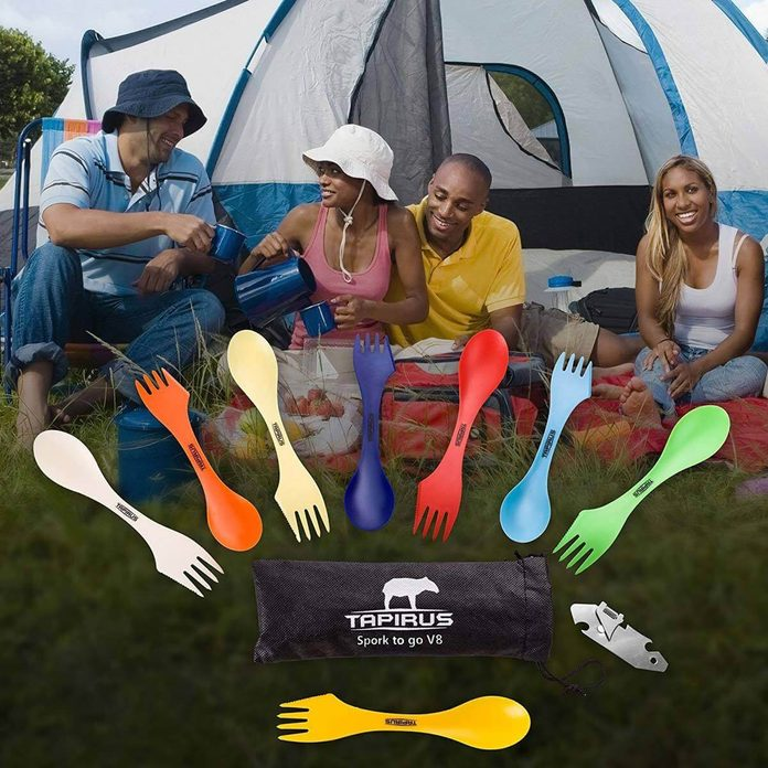 spork camping utensils