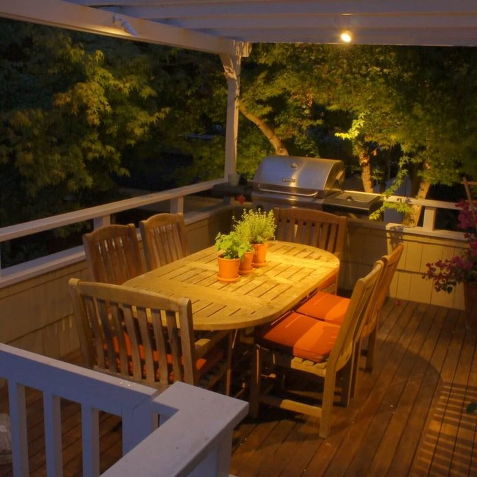 spotlights deck lights