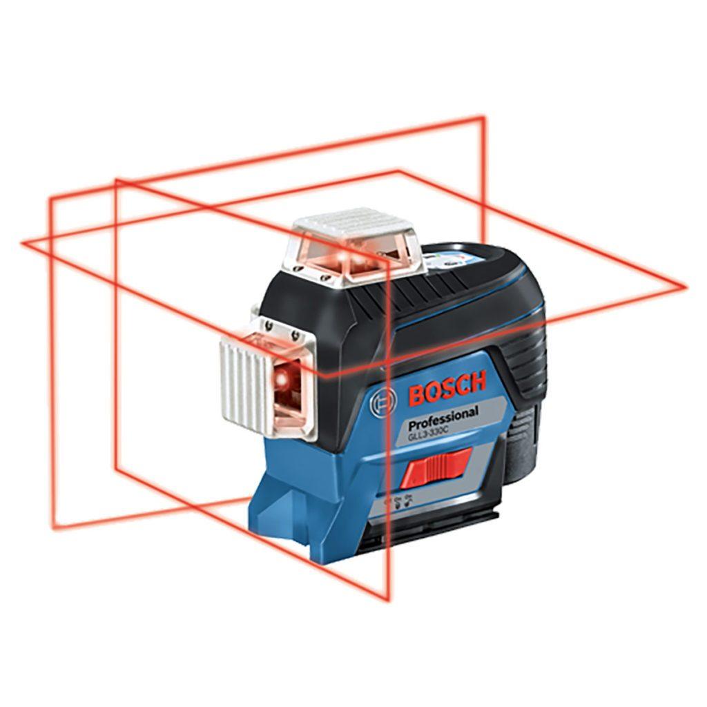Three plane laser from Bosch | Construction Pro Tips