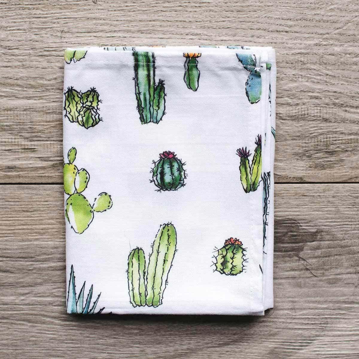 cactus towel