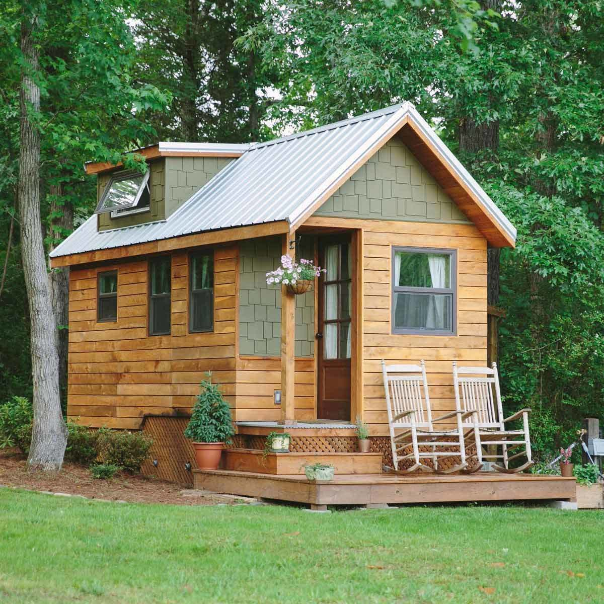 tiny home granny pod