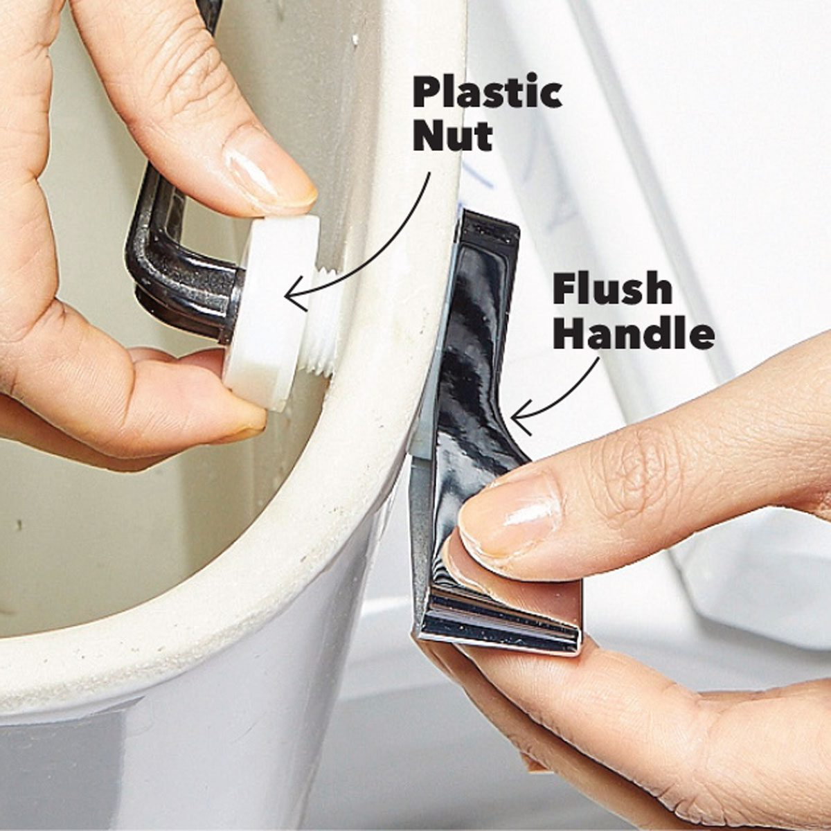 toilet handle flush