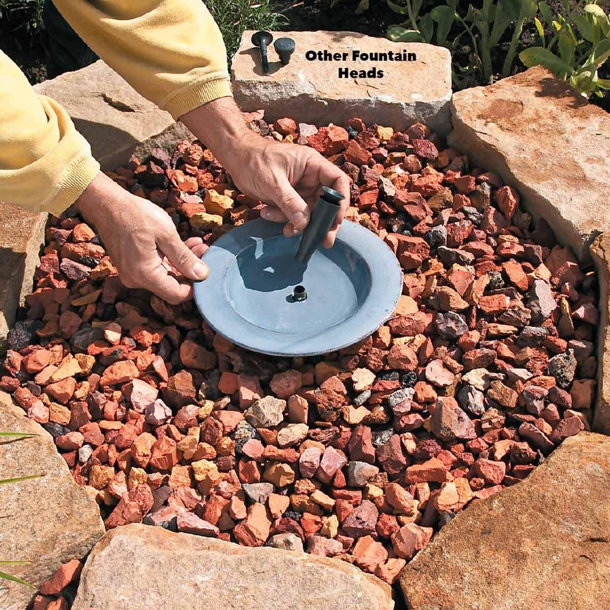 Soothing Fountain add fountain head