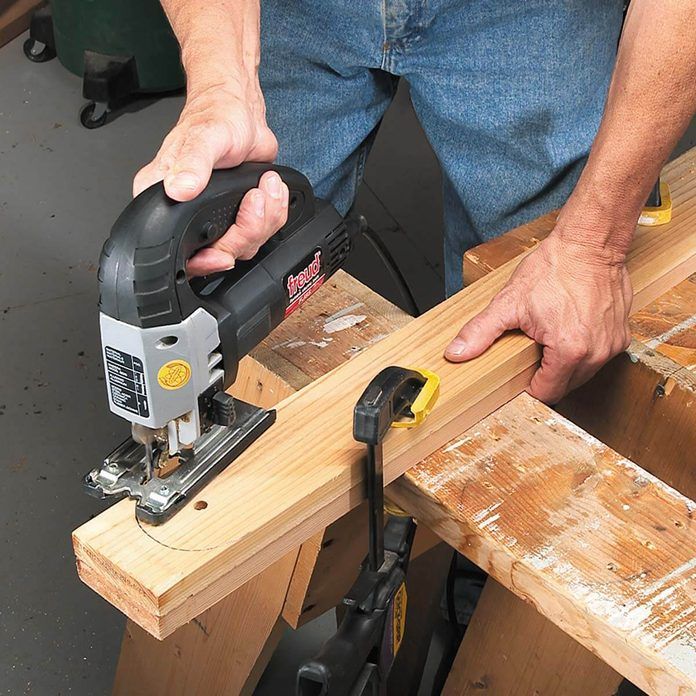 grill table clamp leg boards