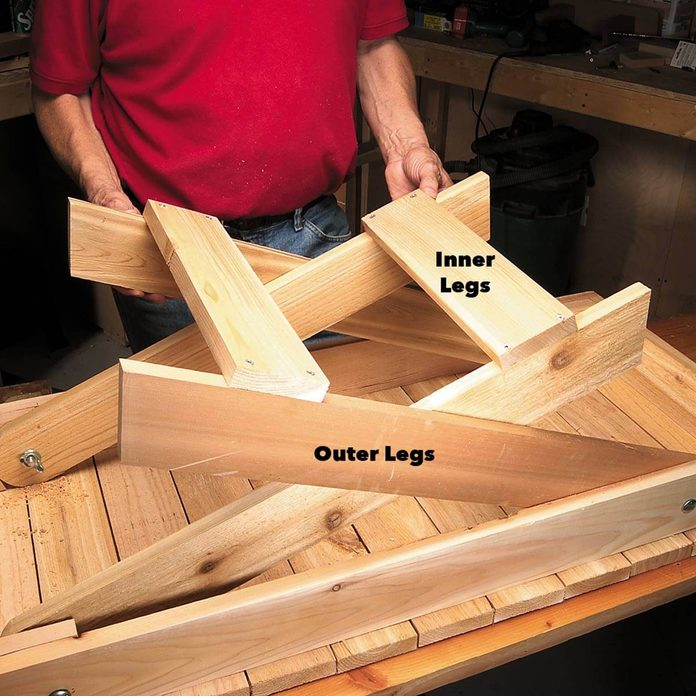 inner outer legs grill table