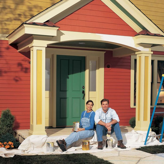 colorful home exterior paint
