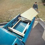Plywood Carrier for Compact Trucks