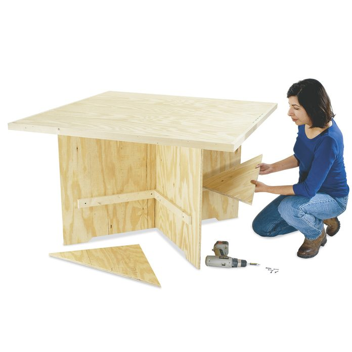 knock apart workbench