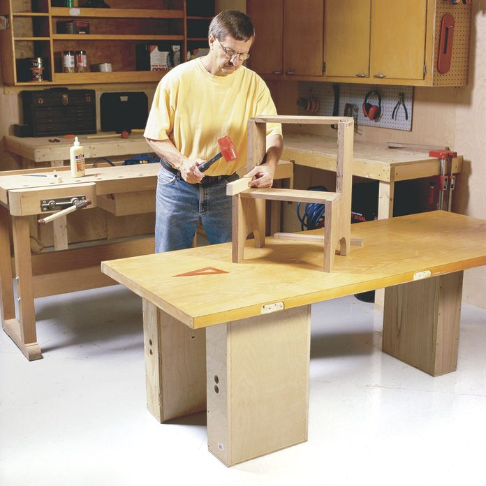apple box workbench