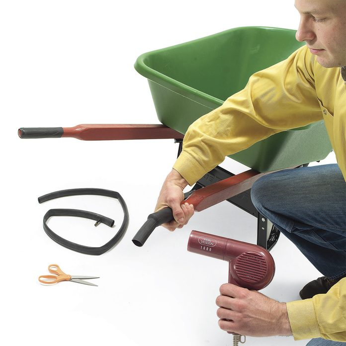 bike tube for wheelbarrow handles