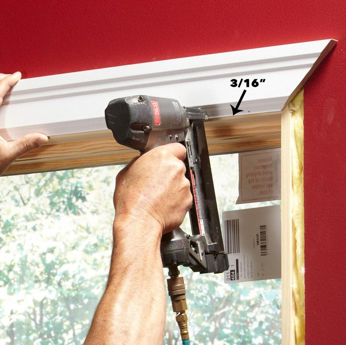 top window trim piece