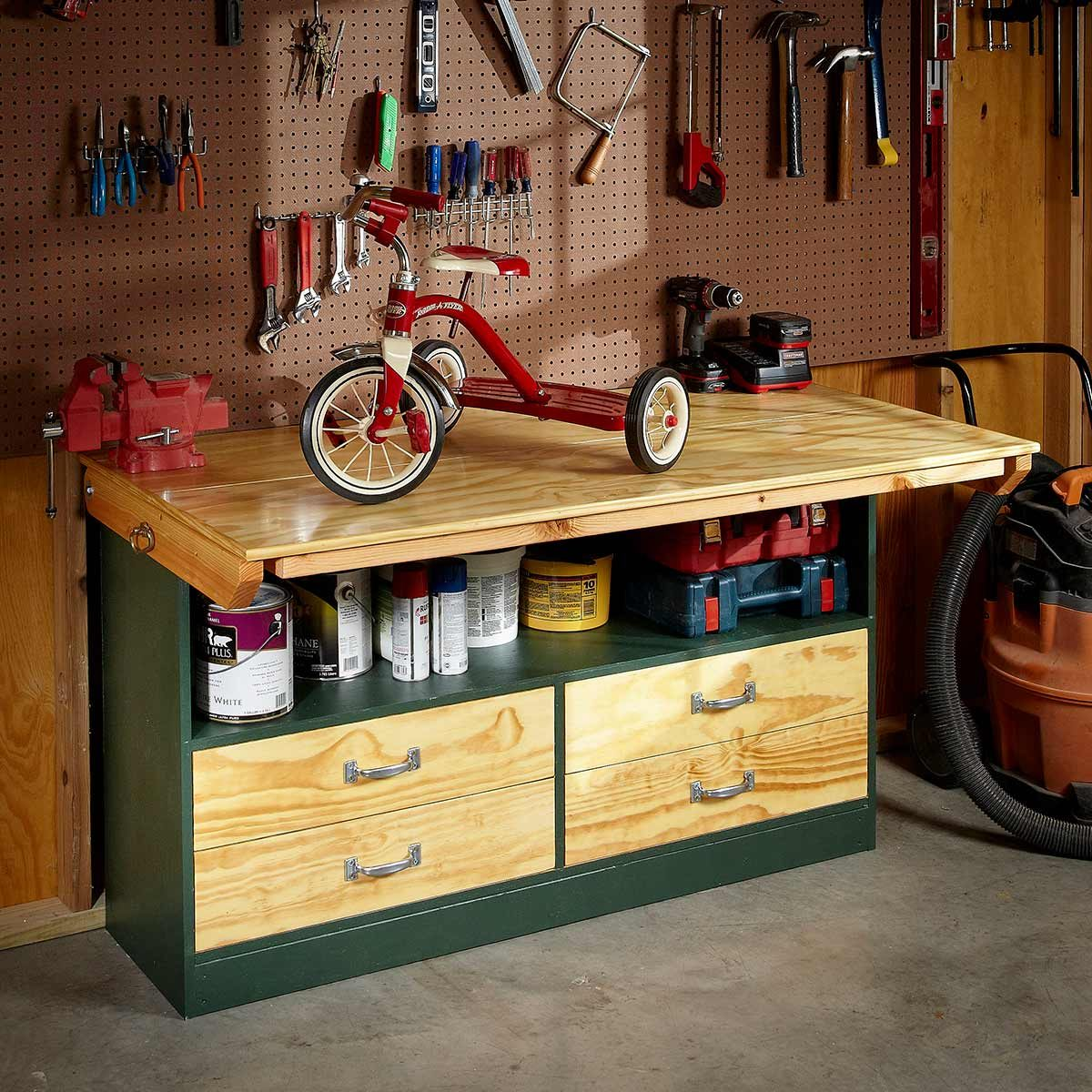 fold-up workbench
