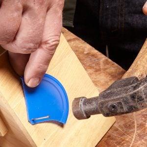 nail holder hack hammer