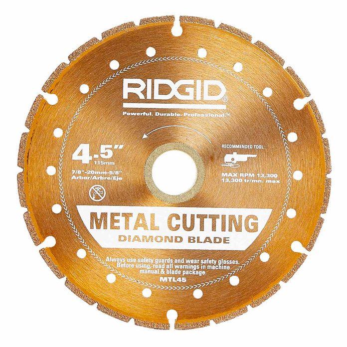 metal cutting diamond blade