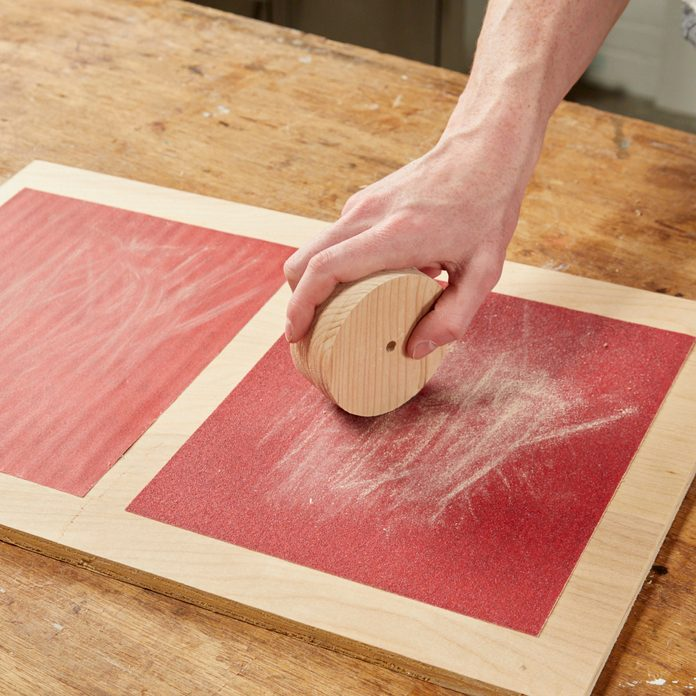Sanding Station for Small Work Handy Hint HH