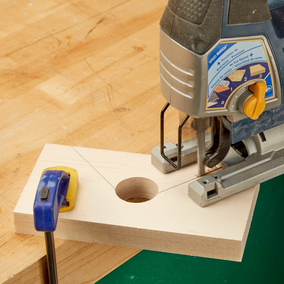 Miter Joint Clamp Jigsaw