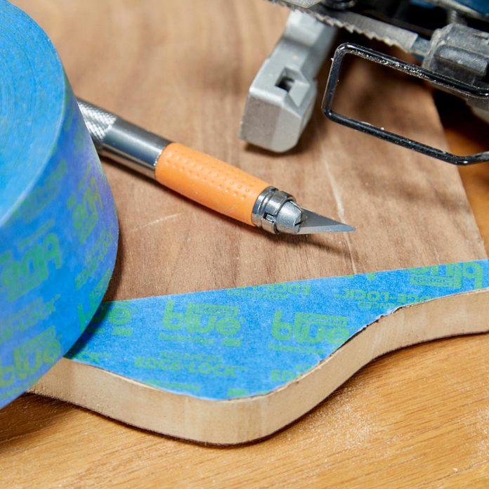 HH painters tape jigsaw cuts