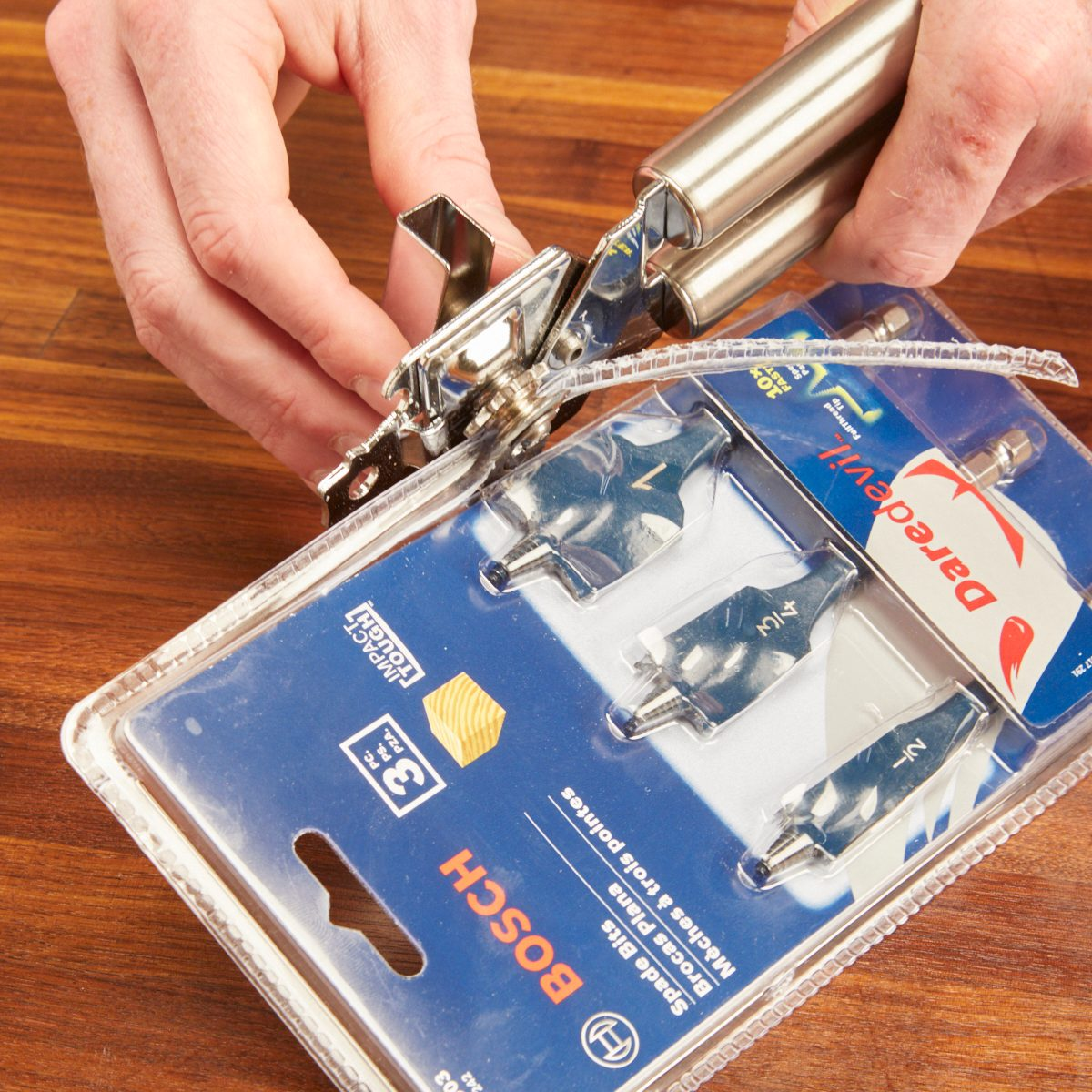 Clamshell Package Opener