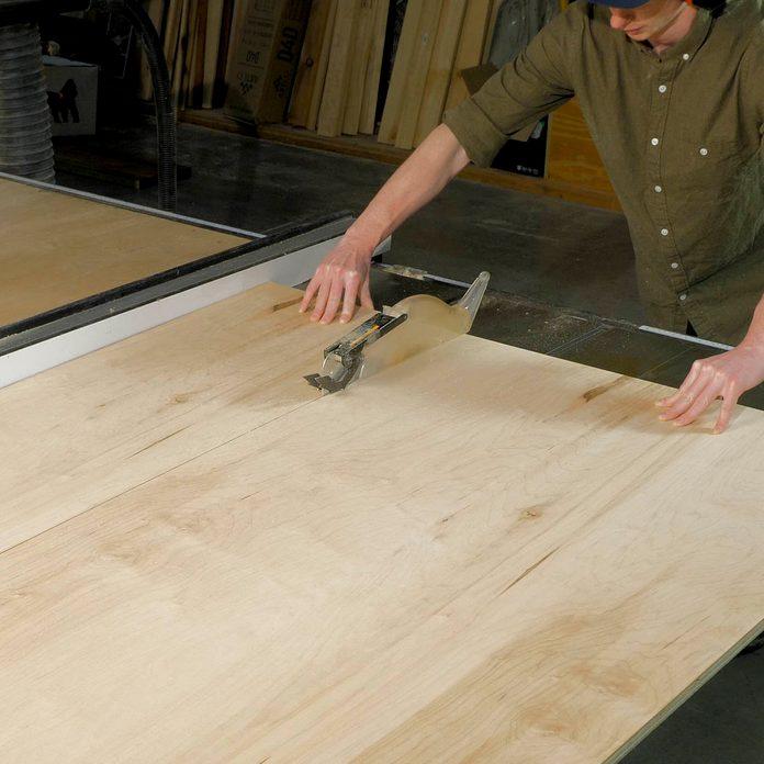 Modern Headboard Rip Plywood