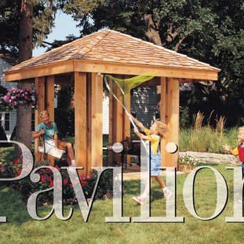 Post and beam pavilion lead