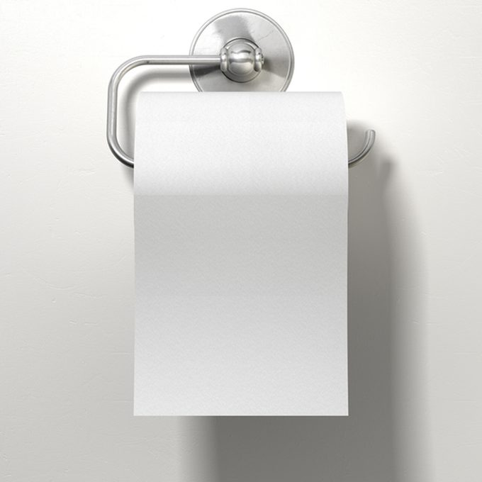 hanging toilet paper over or under