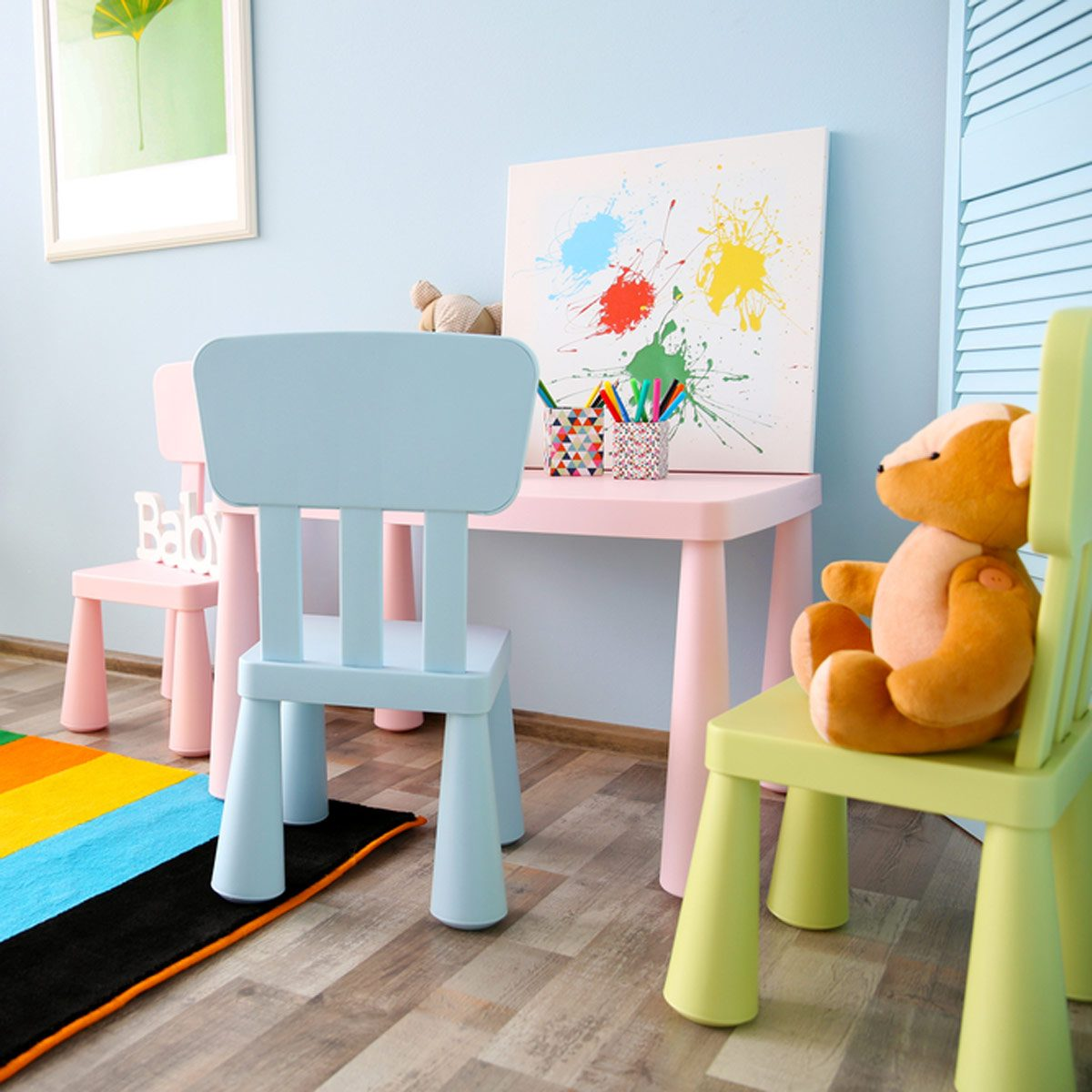 kids toy room
