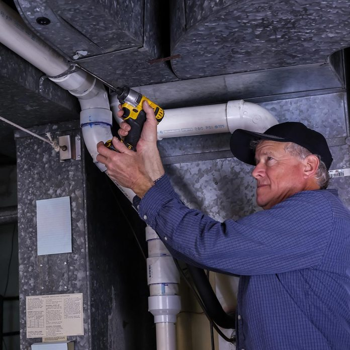 check ductwork connections