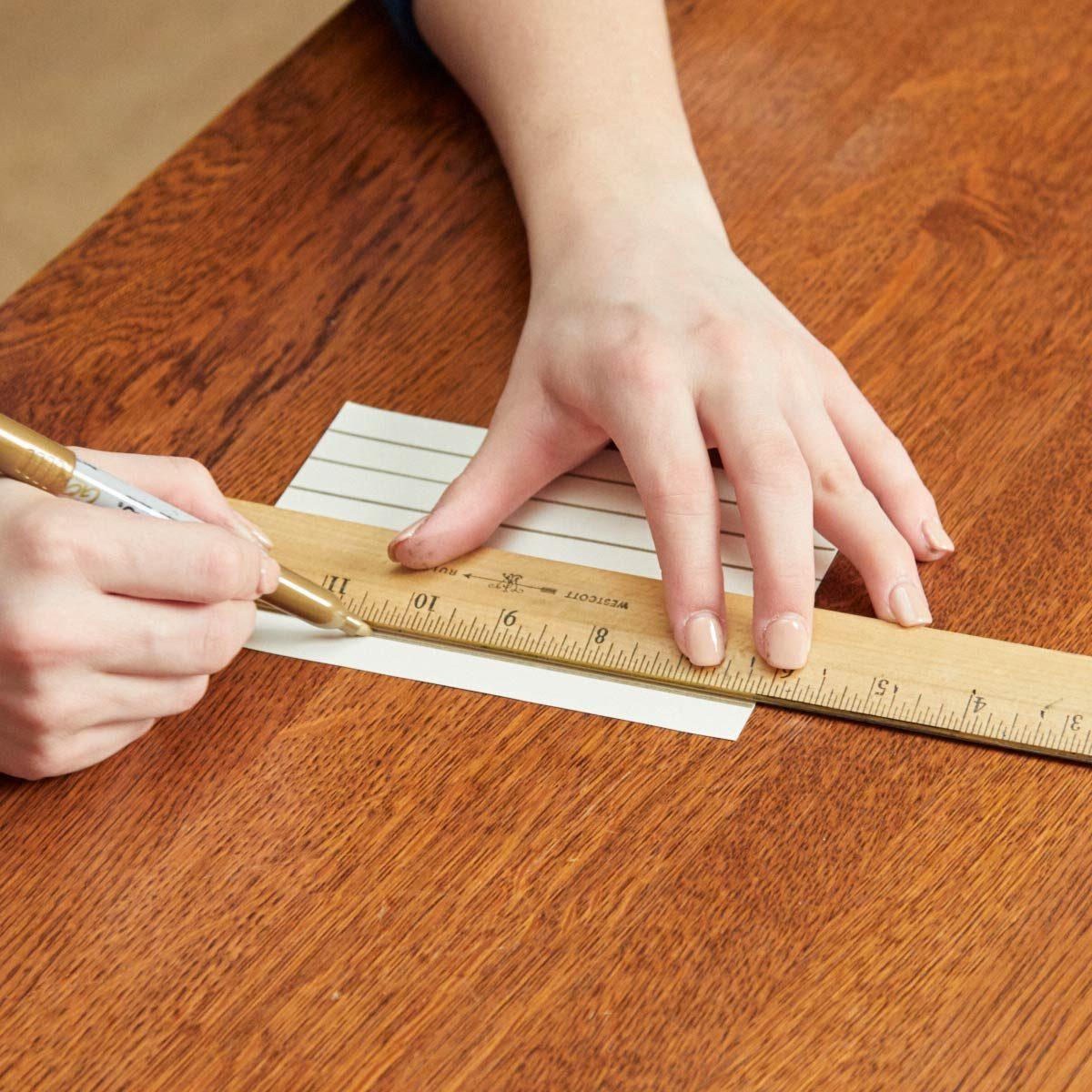 DIY-Art-herringbone-patter-draw-lines