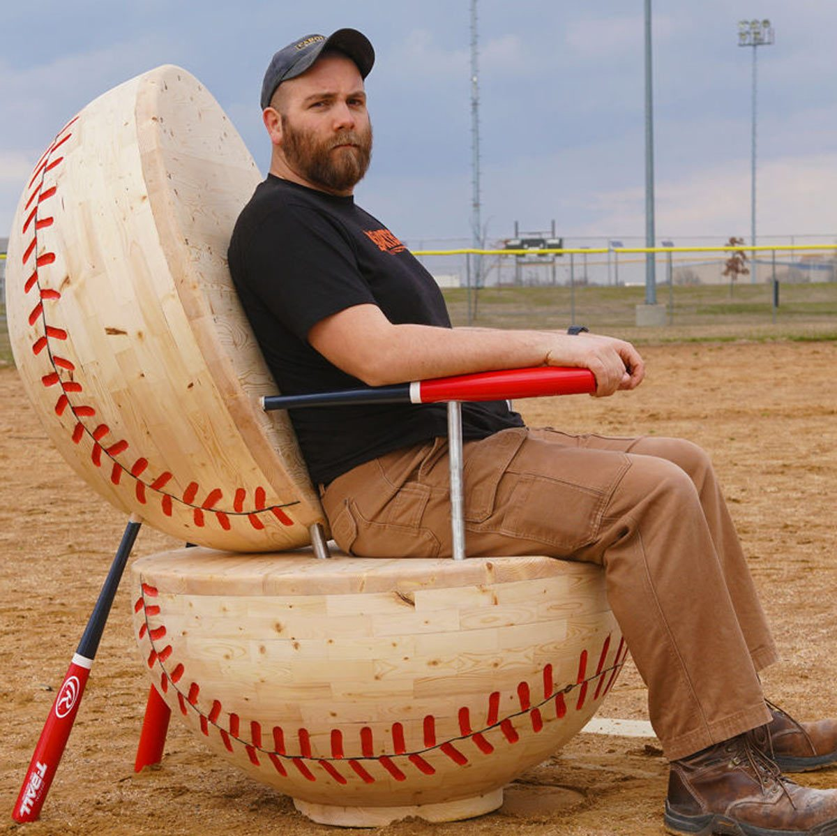 baseball-chair
