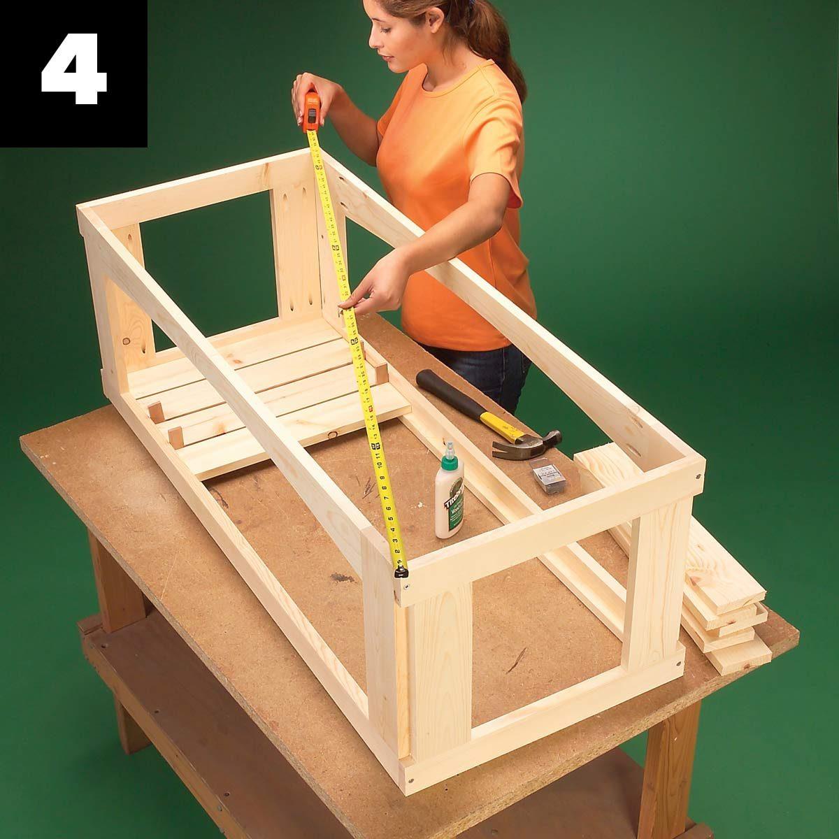 Outdoor Storage Bench 4