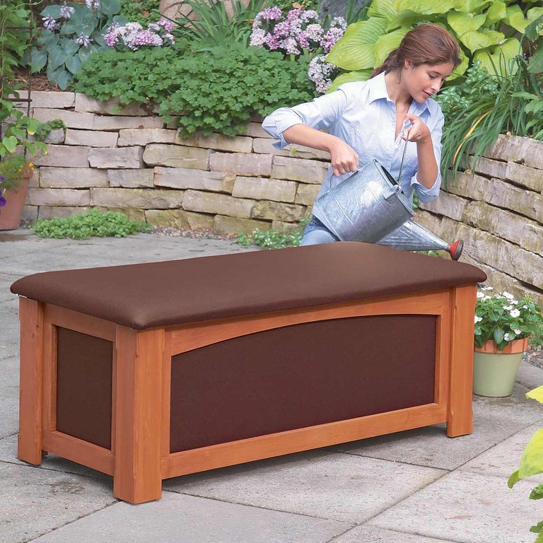 Outdoor Storage Bench Lead outdoor storage bench waterproof