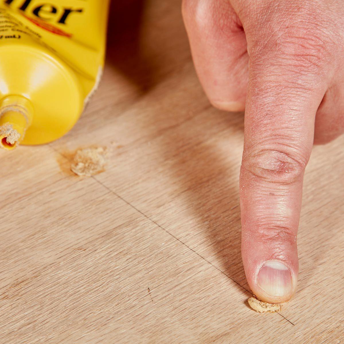 Floating Shelves film nail holes