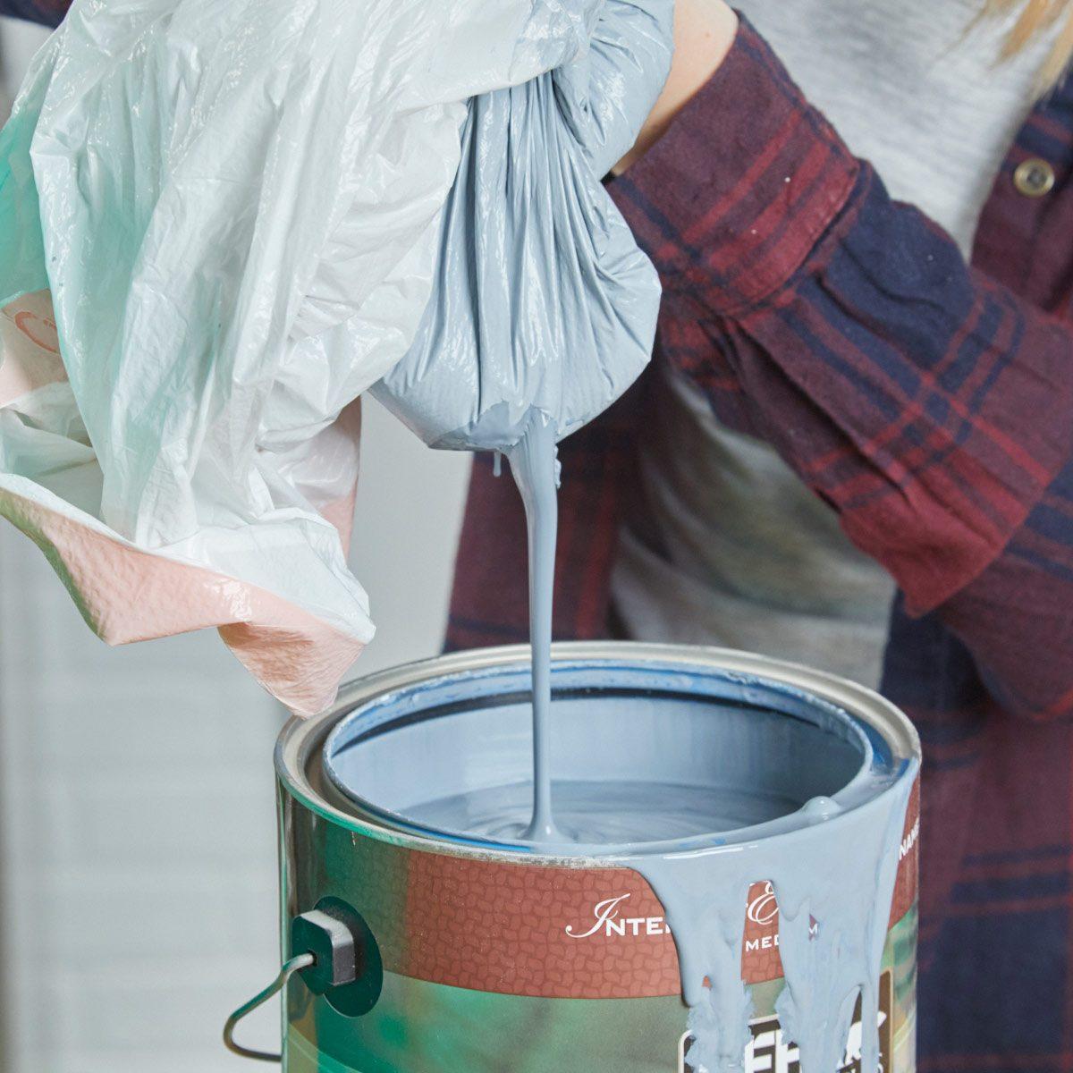 HH paint can trash bag liner