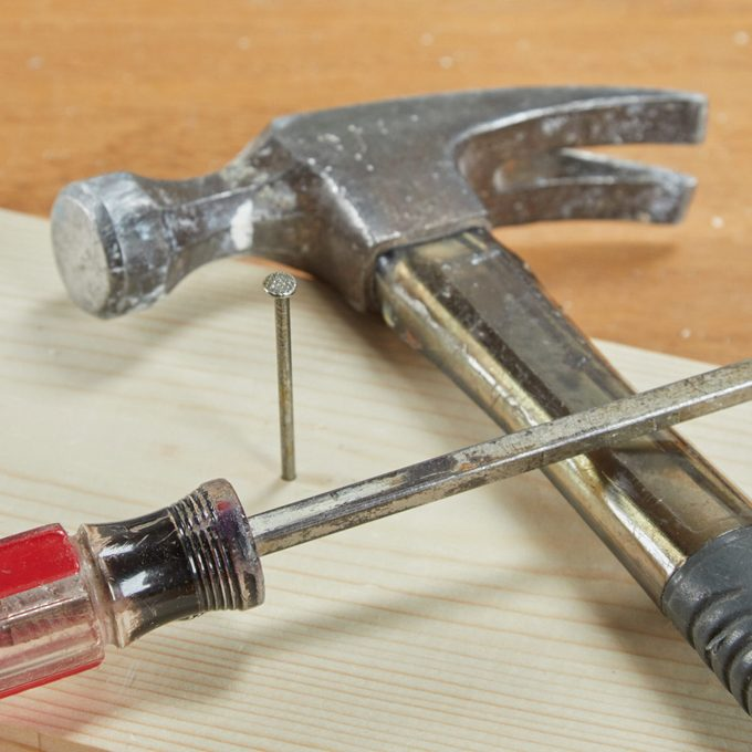 HH hammer screw driver tough nails