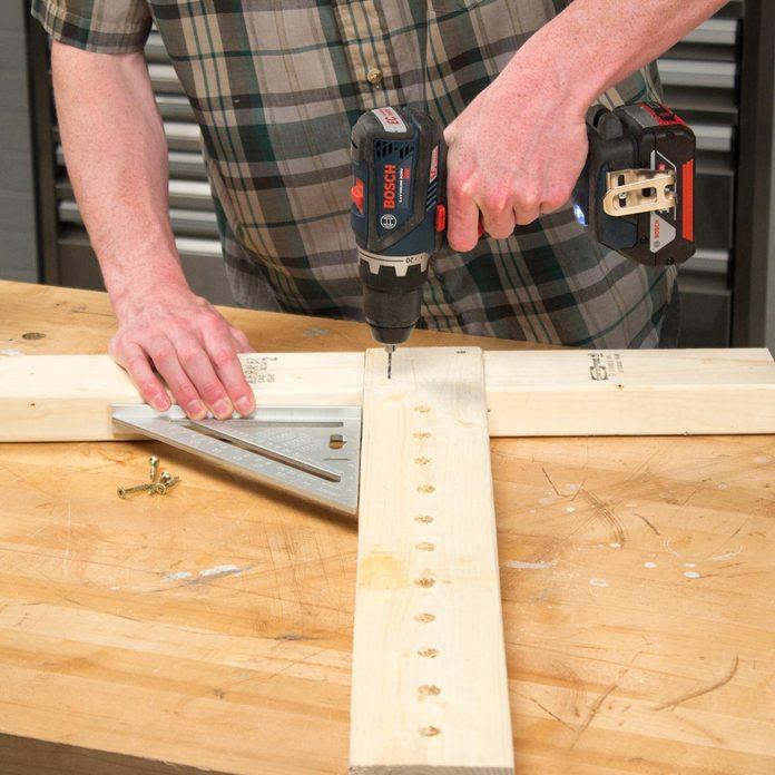 Adjustable Sawhorse Create adjustable assembly