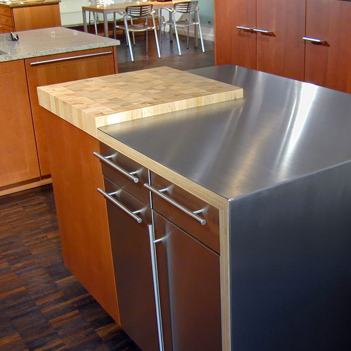 kitchen organization countertop