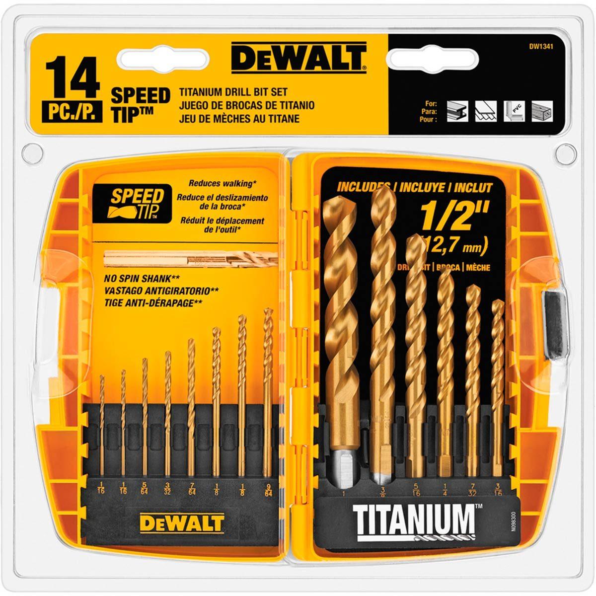 dewalt drill bits