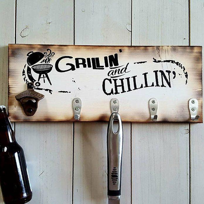grill tool hanger