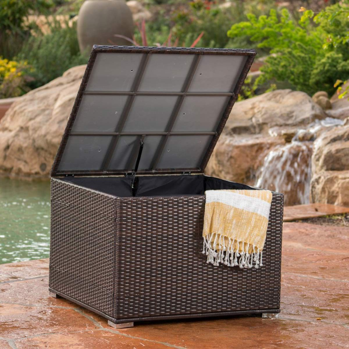 storage patio ideas for small spaces
