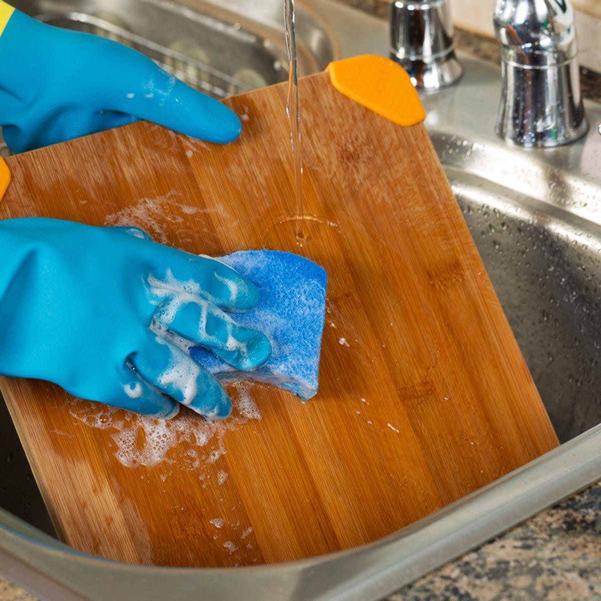 wash cutting-board