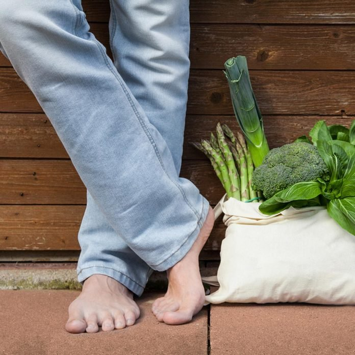bag of vegetables