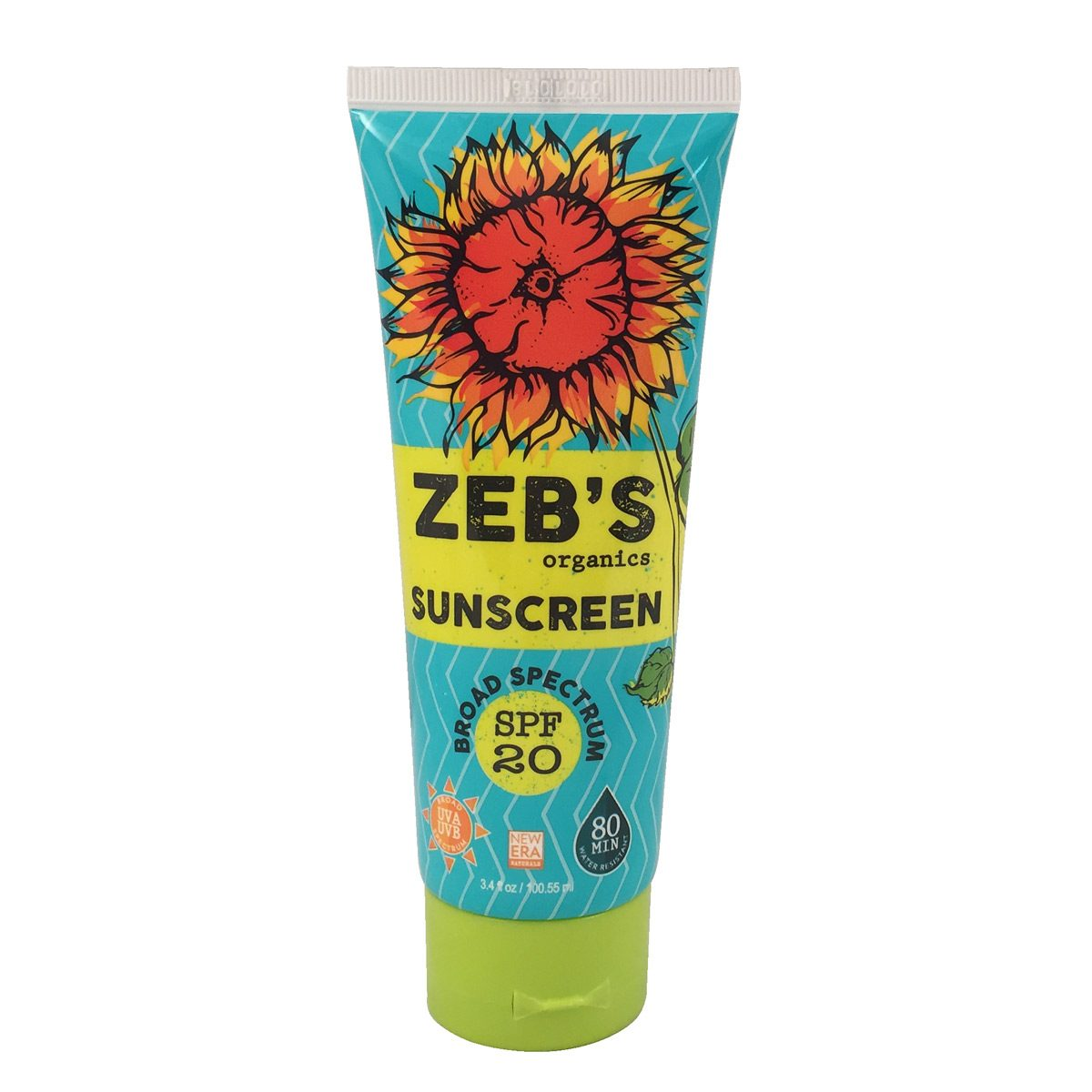 Zeb's sunscreen