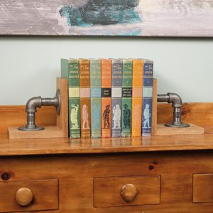 Saturday Morning Workshop: How To Build Industrial Bookends